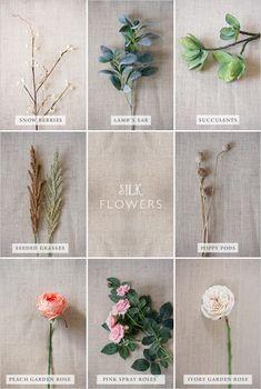 silk flower guide