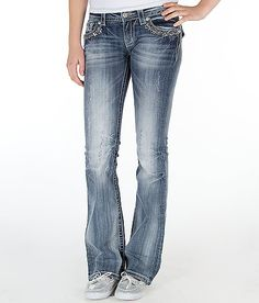 Miss Me Embellished Boot Stretch Jean. I would love to have this