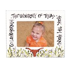 Texas (UT) Longhorns 7x5 Picture Frame http://www.rallyhouse.com/shop/texas-longhorns-texas-longhorns-7x5-picture-frame-2401061?utm_source=pinterest&utm_medium=social&utm_campaign=Pinterest-TexasLonghorns $19.95