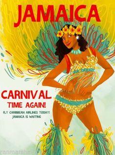 Image result for caribbean carnival poster