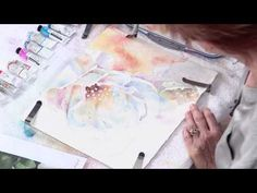 In this watercolor technique tutorial, Julie Gilbert Pollard shows you how to paint white flowers with a focus on using a limited palette for color harmony, mingling color wet-into-wet, adding glazes wet-into-dry, creating lost and found edges, colorful values, negative painting and more. Preview here now, then visit http://Artistsnetwork.tv for the full-length video!