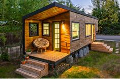 How Did The Tiny House Movement Get Started - Tiny Spaces Living Tiny House Movement, Tiny House Living, Small Living, Tiny House Hotel, Tiny Mobile House, Tiny House Rentals, Tiny House Family, Living Room, Living Spaces