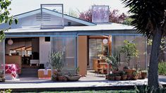 Sunny bungalow | Great lessons in style and comfort from a tiny cottage, vintage trailer, bungalow, and other small homes