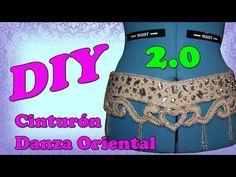 DIY - Cinturón para danza oriental 2.0 - YouTube