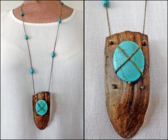 Driftwood necklace ... www.instagram.com/driftwoodist/ www.facebook.com/groups/ergeturkaydin/
