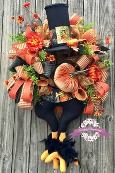 Showcasing some wreaths or other florals created by designers on the Trendy Tree Custom Wreath Designer List. Most all these wreaths are offered for sale Thanksgiving Wreaths, Autumn Wreaths, Holiday Wreaths, Halloween Wreaths, Halloween Stuff, Thanksgiving Decorations, Thanksgiving Turkey, Halloween Halloween, Happy Thanksgiving