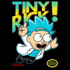 Less text version, ideal for non-shirt products. See More: Rick and Morty T-Shirts