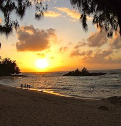 North Shore sunsets are the best! #Hawaii #gohawaii