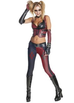 Batman Arkham City Secret Wishes Harley Quinn Adult Costume – reelinthedeal