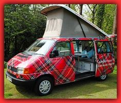 Tartan VW Eurovan - Scotland.