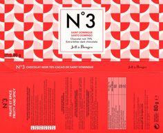 tablette de chocolat noir dégustation jeff de bruges n° 3 saint domingue 70