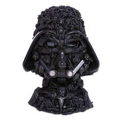 Darth Vader like an Arcimboldo's