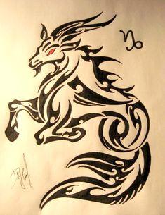 Capricorn+Zodiac+Sign+Tattoos | On Deviantart - Free Download Tattoo #8779 Zodiac Signs 05 Capricorn ...