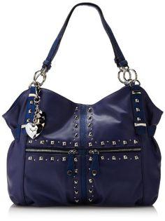 Kathy Van Zeeland Studin Tote Shoulder Bag Black One Size