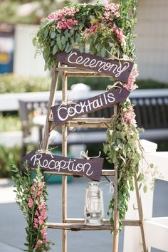 Cute wedding sign idea