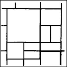 Piet Mondrian, Drawing Projects, Art Projects, Kandinsky For Kids, Painting Corner, Learn Art, Stained Glass Patterns, Easy Quilts, Art Journal Pages