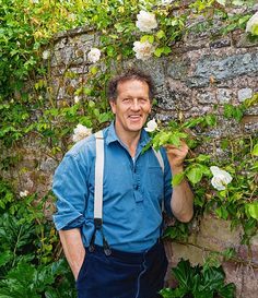Monty says a climbing rose in any situation, be it a wall, trellis, pergola, fence or even a tripod set in a border, is almost always as near to perfection as any plant can aspire to