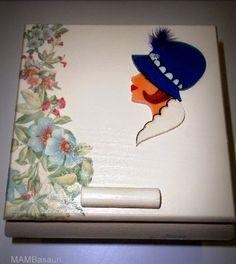 caja decorada de manualidades