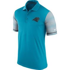 Nike Carolina Panthers Blue Early Season Performance Polo Shirt