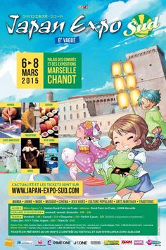 Japan Expo Sud à Marseille, au Palais des Concgrès, du 6 au 8 mars 2015 Prado, Martial, Japan Expo, 8 Mars, Anime, Fictional Characters, Martial Arts, Anime Music, Fantasy Characters
