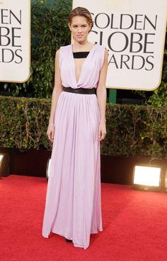 Cody Horn Wearing Vionnet - 2013 Golden Globe Awards