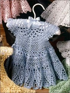 """Vestidos para crianças (e tricô e crochê): Diário de """"tricô"""" - Mom País"""