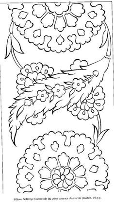 Patterns, but in a different language. Border Pattern, Pattern Art, Tile Patterns, Embroidery Patterns, Jacobean Embroidery, Turkish Pattern, Persian Motifs, Turkish Art, Tile Art
