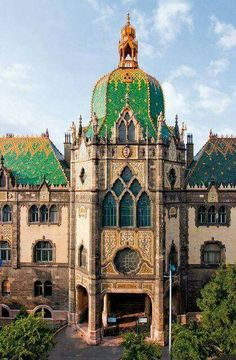 Museum of Applied Arts, Budapest, Hungary.