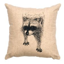linen pillow by Wooded River
