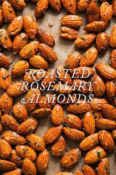 Easy recipe :) Roasted Rosemary Almonds / blog.jchongstudio.com