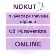 Od danas će prijave za priznavanje diploma visokog obrazovanja u Norveškoj biti moguće preko sajta Nokuta-a. I dalje smo spremni da vam pomognemo da pošaljete vaša dokumenta! Za više informacija nam pišite u inboksu http://snip.ly/vhnme