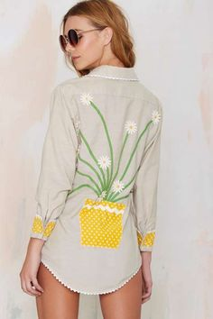 Vintage Molly Embroidered Shirt