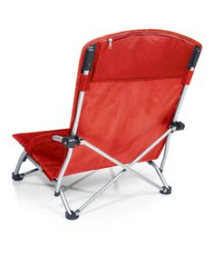 Take a look at this Red Tranquility Chair by Picnic Time on #zulily today!