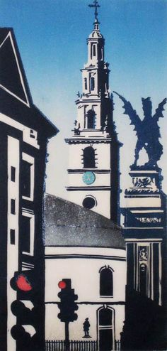 St Clement Danes - Janet Brooke - [Oranges and lemons say the bells of St. Clements.]