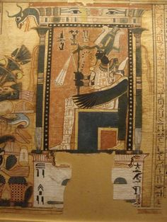 The Book of the Dead of Nebqed, Ancient Egyptian, 18th dynasty, c1400 BC.