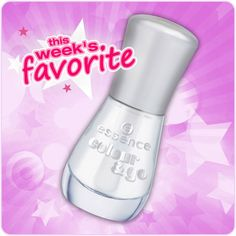 "hi beauties, our colour & go ""101 absolute pure"" with a gel-shine finish guarantees a gorgeous and well-groomed look on your nails - that's why we've chosen it as our favorite of the week.  when do you wear transparent nail polish?  #essence #nailpolish #nails"