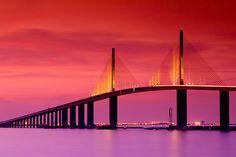 Sunshine Skyway Bridge by VisitTampaBay, via Flickr #VisitTampaBay