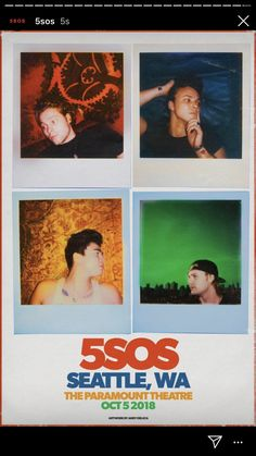 5 Seconds of Summer 💥 5sos Art, 5sos Concert, 5sos Pictures, 5sos Memes, Beautiful Blue Eyes, Tour Posters, Music Wall, Album Songs, Photo Wall Collage