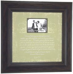 """""""cross my heart"""" photo frame. I must have it!!"""