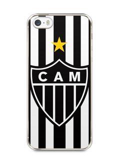 Capa Iphone 5/S Time Atlético Mineiro Galo #1 - SmartCases - Acessórios para celulares e tablets :)