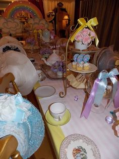 Unicorn Tea Party #unicorn #teaparty