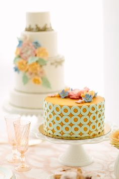colourful wedding cakes - Google Search