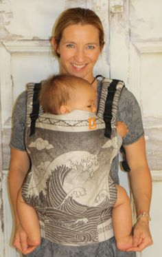TULA Baby Carriers | Toddler Carriers — (Standard Size) Half Wrap Conversion Tula Baby Carrier - Oscha Okinami