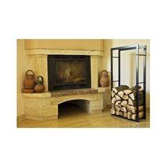 Modern Fire Wood Storage Rack Firewood Holder Log Basket Fireplace Burner Stove in Home, Furniture & DIY, Fireplaces & Accessories, Log Baskets & Holders | eBay