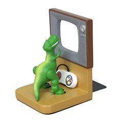 Disney-PIXAR-TOY-STORY-Rex-Bookends-SD-8009-Japan-Exclusive-Seto-Craft