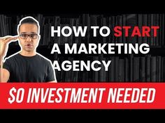 How To Start A Marketing Agency With $0 Investment (PROVEN MODEL) - Learn how to start a marketing agency with a zero dollar investment. Not tomorrow but TODAY. Watch this to learn how! Digital Marketing Business, Social Media Marketing Agency, Sales Strategy, Free Advice, Business Professional, Other People, Zero, Investing, Watch