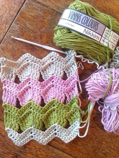 This looks so cute, and the pattern is easy to understand. I see a scarf or a baby blanket in the future.