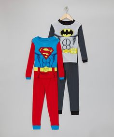 Take a look at this Superman & Batman Pajama Set - Boys on zulily today!
