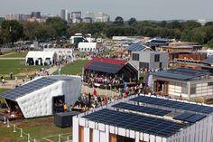 The Solar Decathlon turns ten.    Photo courtesy of Stefano Paltera, U.S. Department of Energy Solar Decathlon.