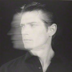 Self-Portrait, Robert Mapplethorpe, 1985. Jointly acquired by the Los Angeles County Museum of Art, with funds provided by The David Geffen Foundation, and The J. Paul Getty Trust. ©Robert Mapplethorpe Foundation
